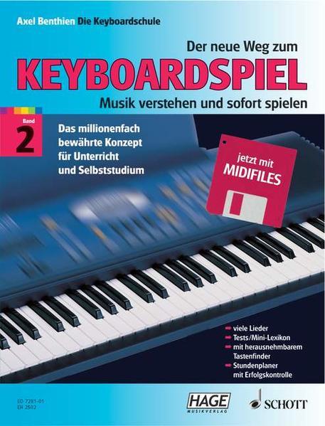 Der neue Weg zum Keyboardspiel - Coverbild