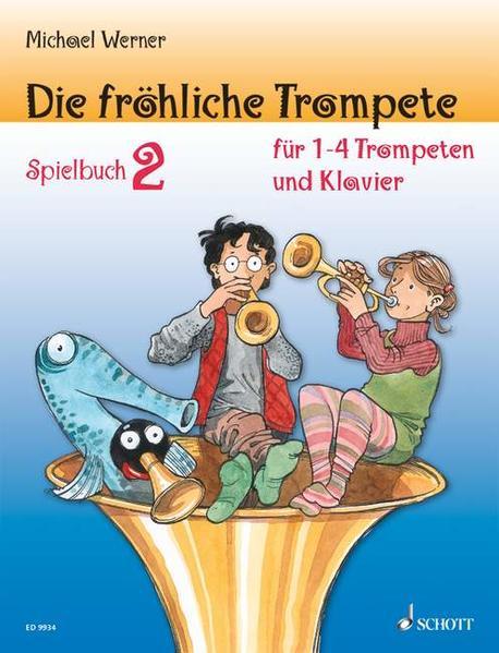 Die fröhliche Trompete - Coverbild