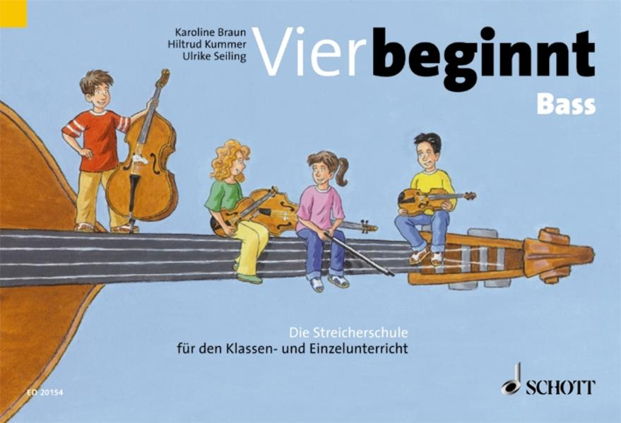 Vier beginnt - Coverbild