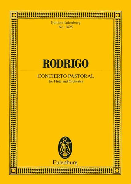 Concierto pastoral - Coverbild