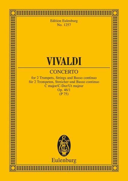 Concerto C-Dur - Coverbild