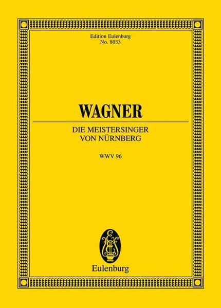 Die Meistersinger von Nürnberg - Coverbild