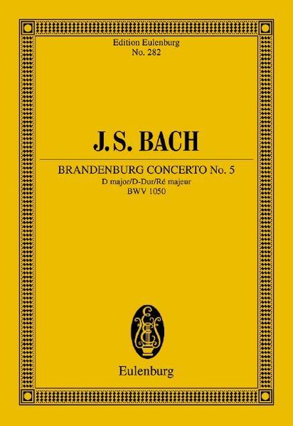 Brandenburgisches Konzert Nr. 5 D-Dur - Coverbild
