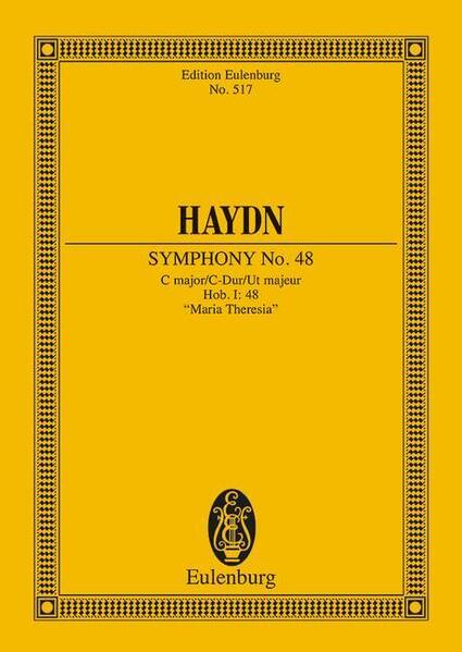 Sinfonie Nr. 48 C-Dur - Coverbild