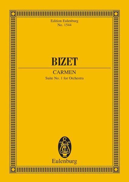 Carmen Suite I - Coverbild
