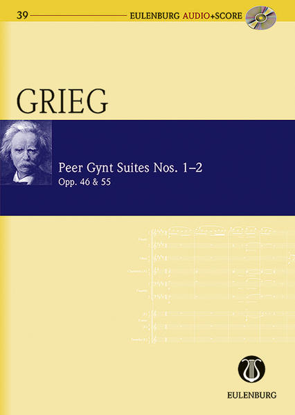 Peer Gynt Suiten Nr. 1 und 2 - Coverbild
