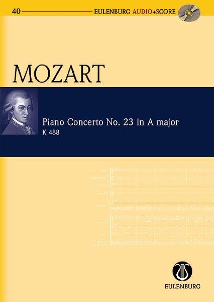 Konzert Nr. 23 A-Dur - Coverbild