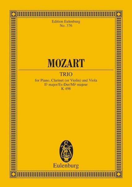 Trio Es-Dur - Coverbild