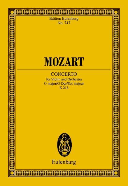 Konzert G-Dur - Coverbild