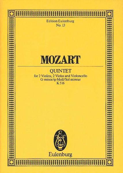 Streichquintett g-Moll - Coverbild