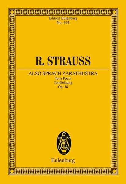 Also sprach Zarathustra - Coverbild