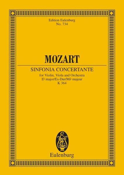 Sinfonia concertante - Coverbild