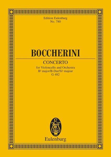 Konzert B-Dur - Coverbild