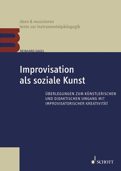 Improvisation als soziale Kunst - Coverbild