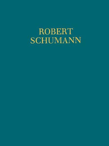 XII Etudes symphoniques u.a. - Coverbild