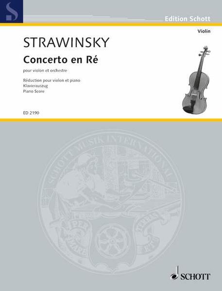 Concerto en Ré - Coverbild