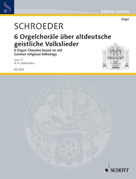 6 Orgelchoräle - Coverbild