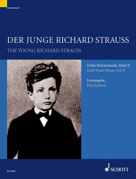 Der junge Richard Strauss - Coverbild