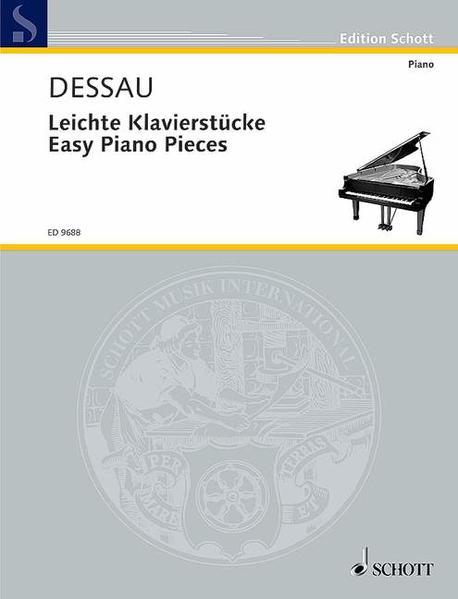 Leichte Klavierstücke - Coverbild
