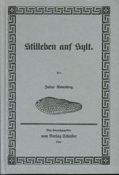 Stilleben auf Sylt - Coverbild