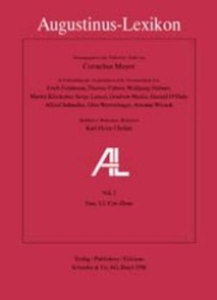 AL - Augustinus-Lexikon / Aaron - Corpus - Coverbild