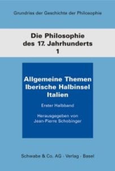 Grundriss der Geschichte der Philosophie / Die Philosophie des 17. Jahrhunderts - Coverbild