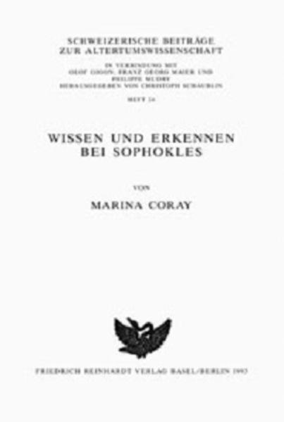 Wissen und Erkennen bei Sophokles - Coverbild