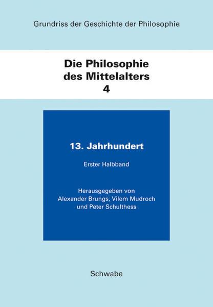 Grundriss der Geschichte der Philosophie / Die Philosophie des Mittelalters - Coverbild