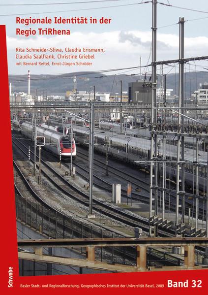 Reginale Identität in der Regio TriRhena - Coverbild