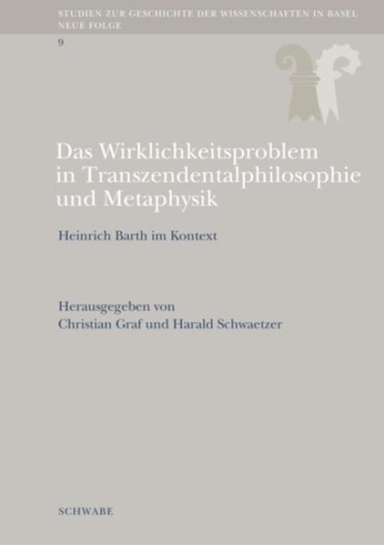 Das Wirklichkeitsproblem in Transzendentalphilosophie und Metaphysik - Coverbild