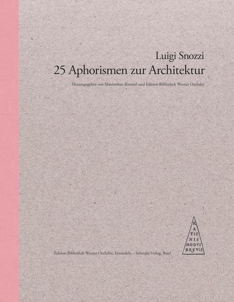 25 Aphorismen zur Architektur Laden Sie Das Kostenlose PDF Herunter