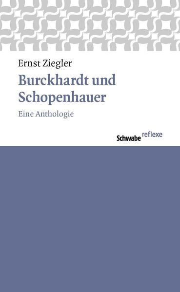 Burckhardt und Schopenhauer - Coverbild