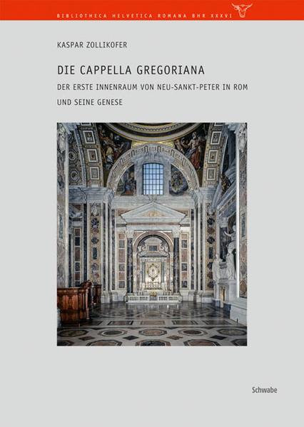 Die Anfänge der Innenausstattung von Neu-Sankt-Peter in Rom - Coverbild