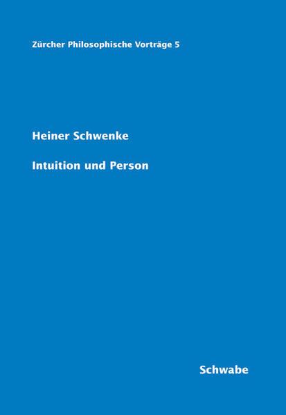 Intuition und Person - Coverbild