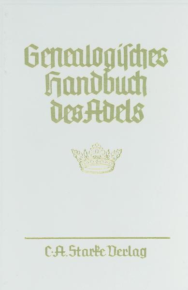 Genealogisches Handbuch des Adels - Coverbild