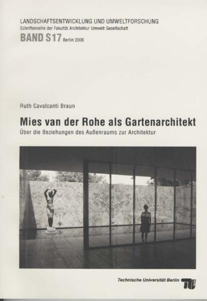 Mies van der Rohe als Gartenarchitekt - Coverbild