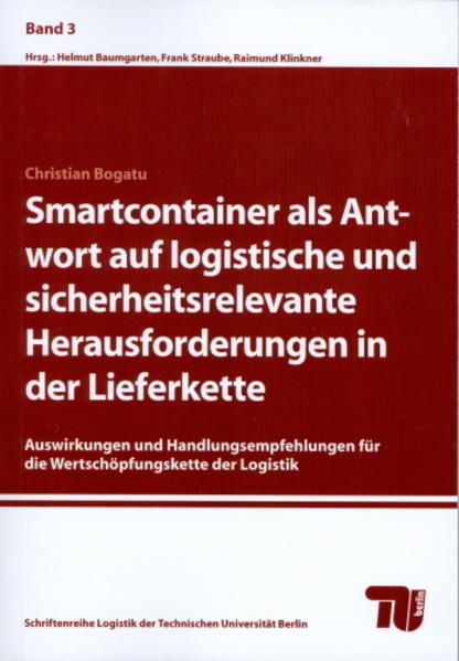Smartcontainer als Antwort auf logistische und sicherheitsrelevante Herausforderungen in der Lieferkette - Coverbild
