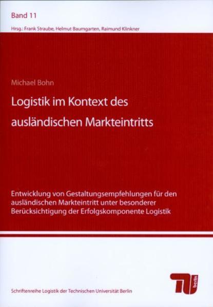 Logistik im Kontext des ausländischen Markteintritts - Coverbild