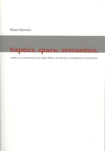 Haptics Space Semantics - Coverbild