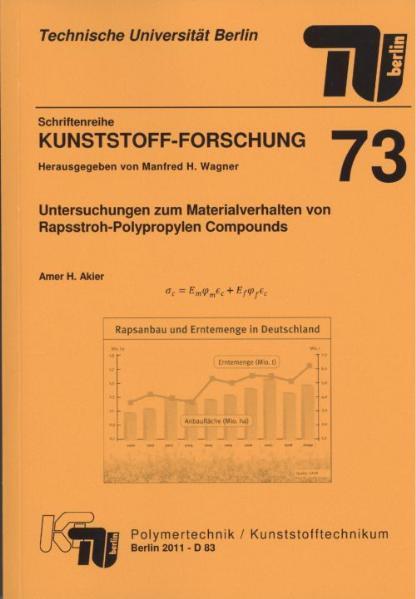 Untersuchungen zum Materialverhalten von Rapsstroh-Polypropylen Compounds - Coverbild