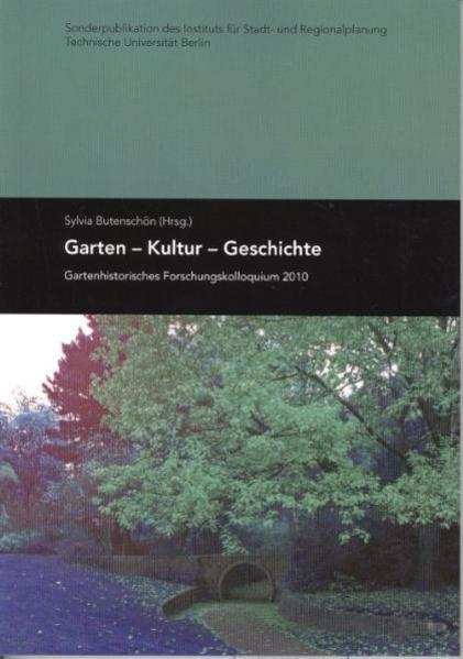 Garten - Kultur - Geschichte - Coverbild