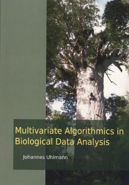 Multivariate Algorithmics in Biological Data Analysis - Coverbild