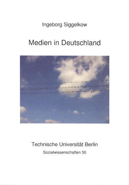 Medien in Deutschland - Coverbild