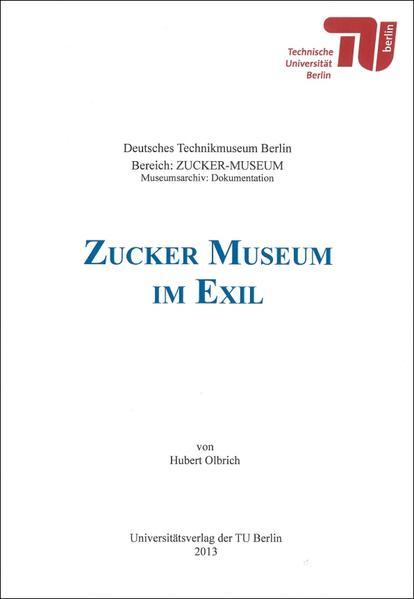 Zucker-Museum im Exil - Coverbild