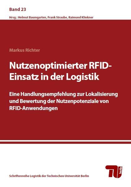 Nutzenoptimierter RFID-Einsatz in der Logistik - Coverbild