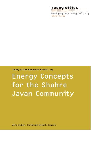 Energy concepts for the Shahre Javan Community - Coverbild