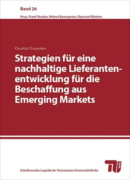 Strategien für eine nachhaltige Lieferantenentwicklung für die Beschaffung aus Emerging Markets - Coverbild