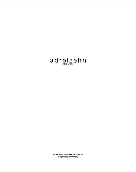 adreizehn 2013/2014 - Coverbild