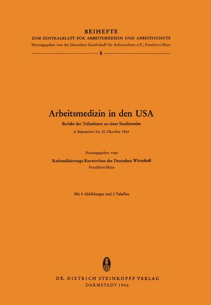 Arbeitsmedizin in den USA - Coverbild