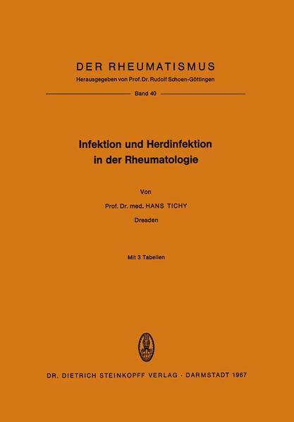 Infektion und Herdinfektion in der Rheumatologie - Coverbild